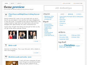 TypographyWP free wordpress theme