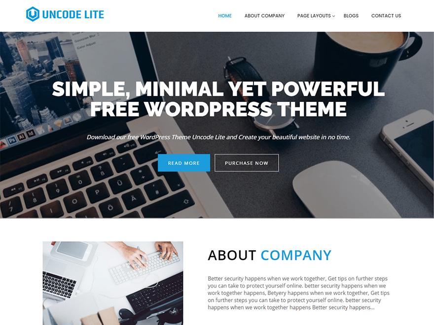 Uncode Lite | WordPress.org