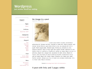 UnspeakableDogness wordpress theme