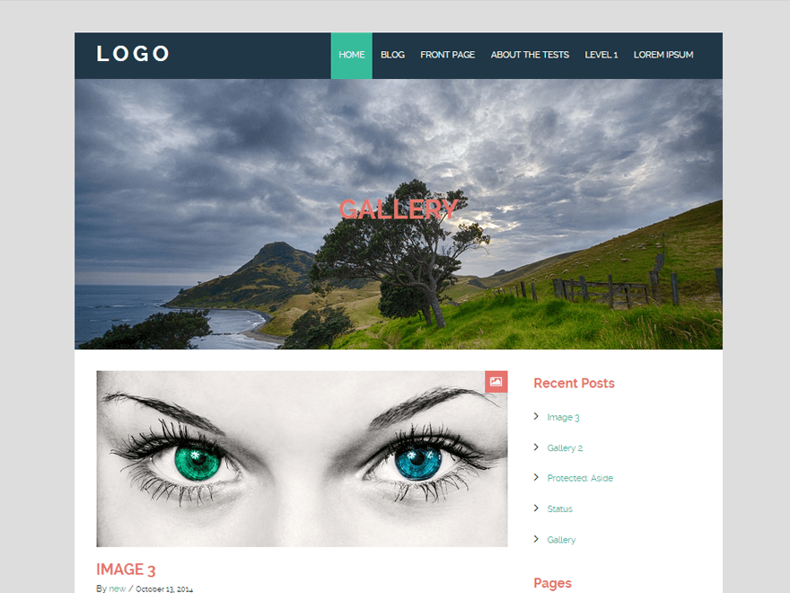 Urban Bold free wordpress theme