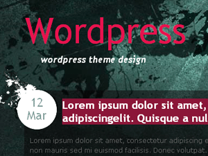 Urban View wordpress theme