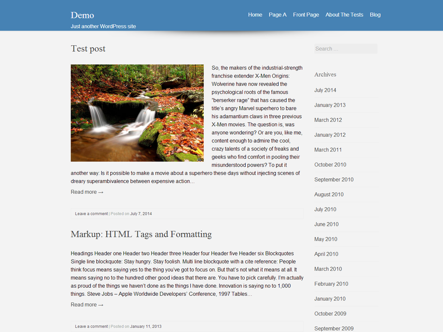 USHA free wordpress theme