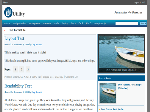 utility free wordpress theme