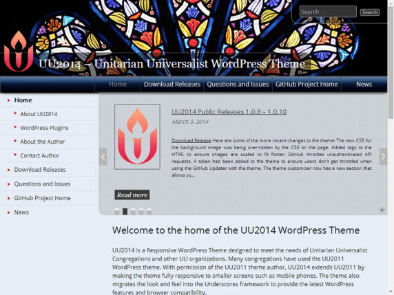 UU 2014 wordpress theme