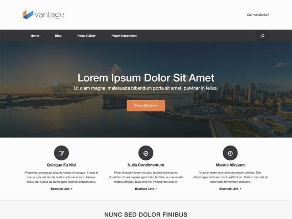 Vantage | WordPress.org