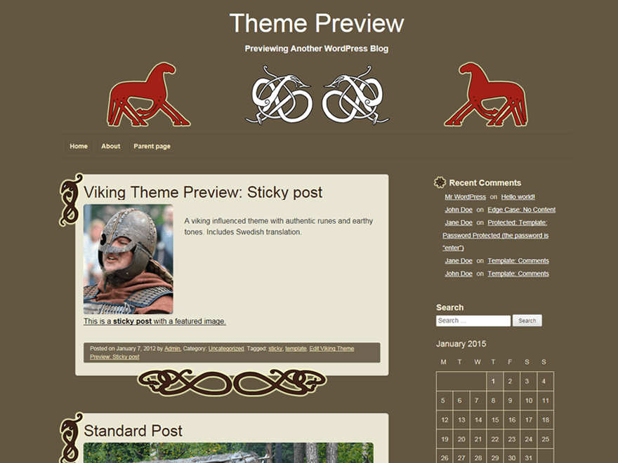 viking theme wordpress gratuit