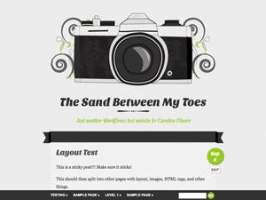 Vintage Camera free wordpress theme