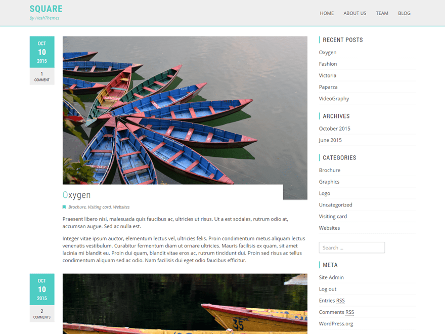 Viral free wordpress theme