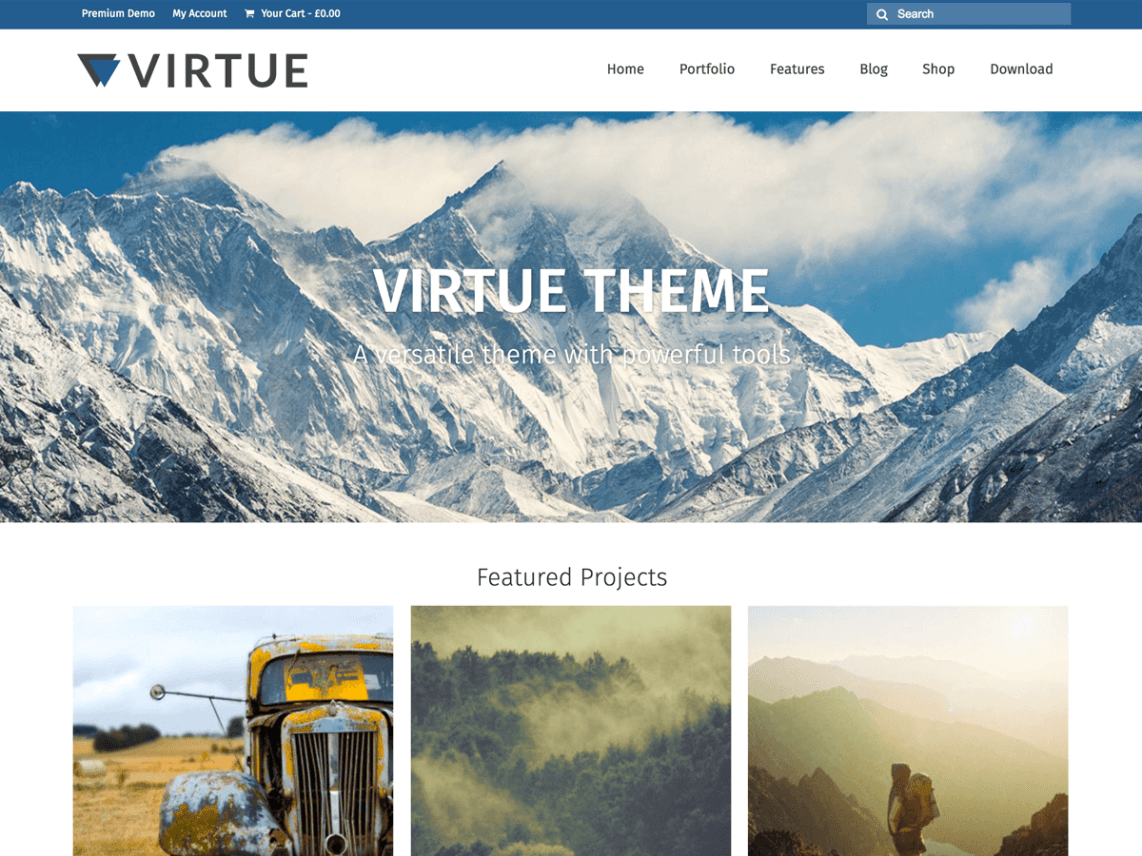 virtue wordpress org