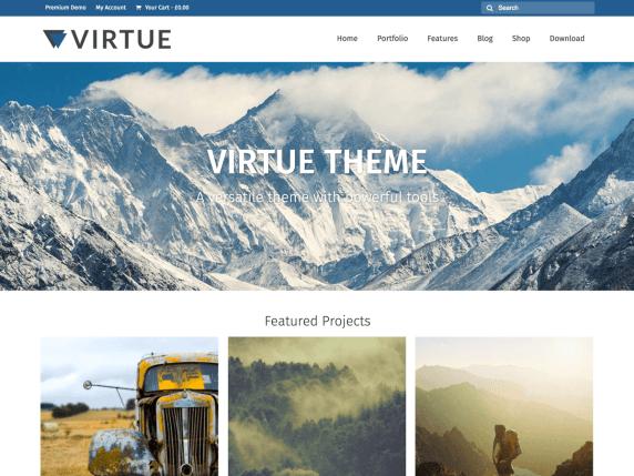 Virtue Theme | BGNBuzz