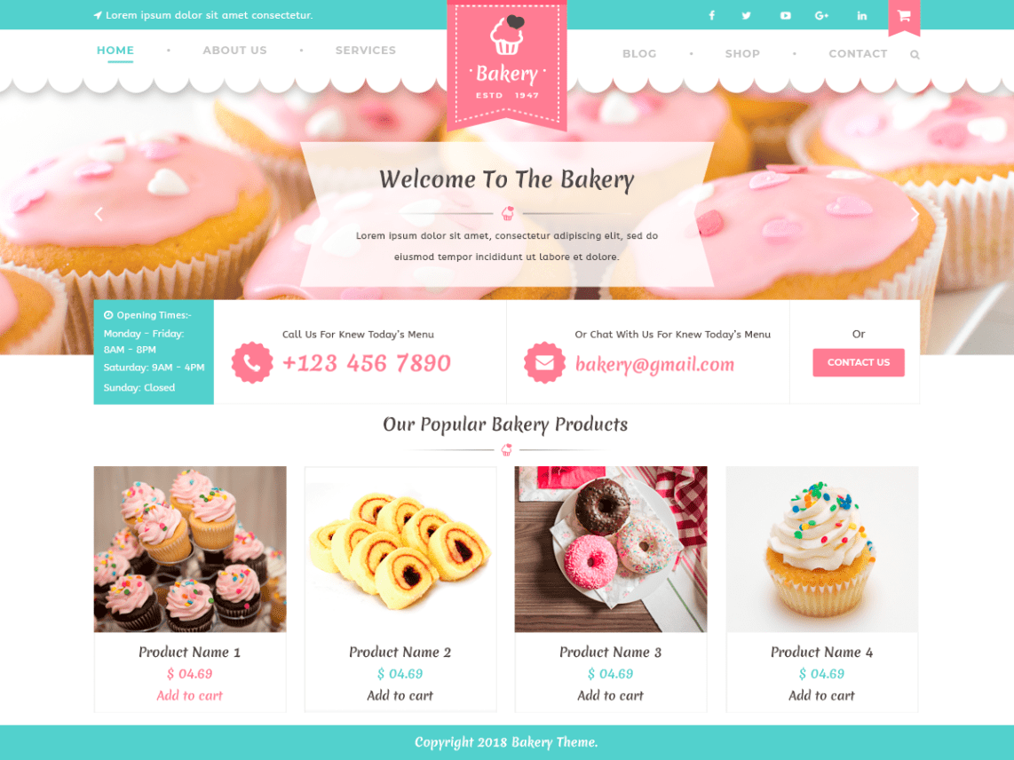 VW Bakery By VW THEMES