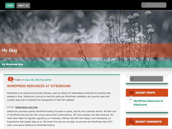 Wallpapered theme wordpress gratuit