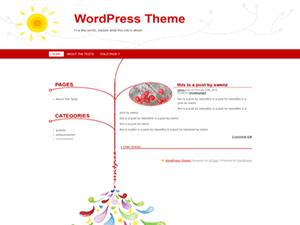 WarmWinter wordpress theme