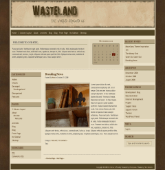 Wasteland free wordpress theme