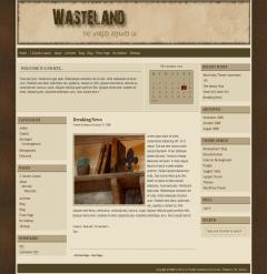Wasteland wordpress theme