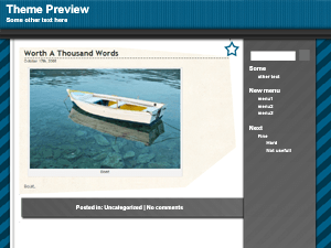 Web 2.0 free wordpress theme