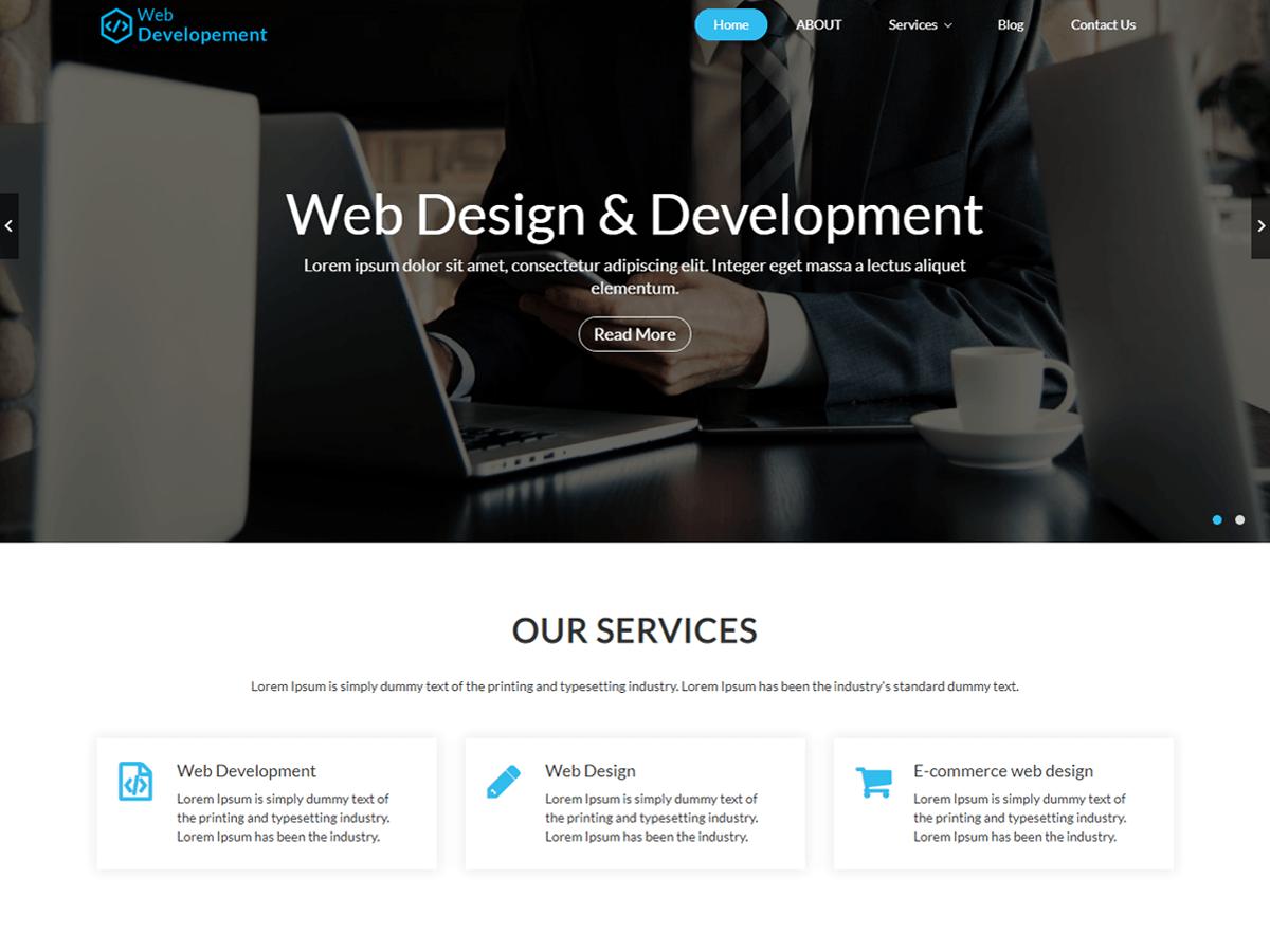 Web Development Wordpress Theme Wordpress Org
