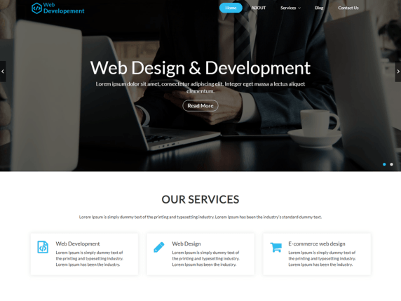 Web Development Wordpress Theme Wordpress Org