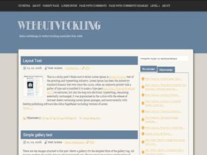 Webbutveckling theme wordpress gratuit