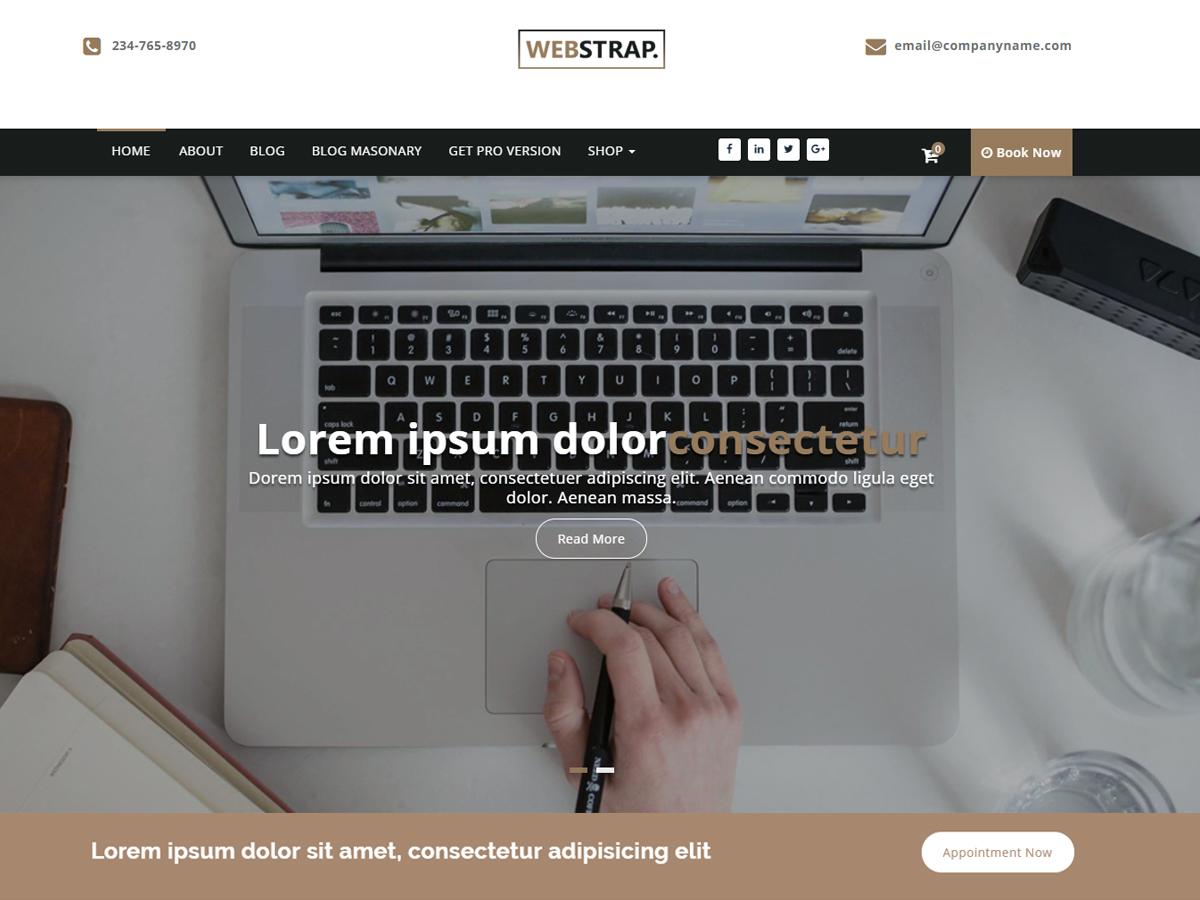 WordPress主题:Webstrap