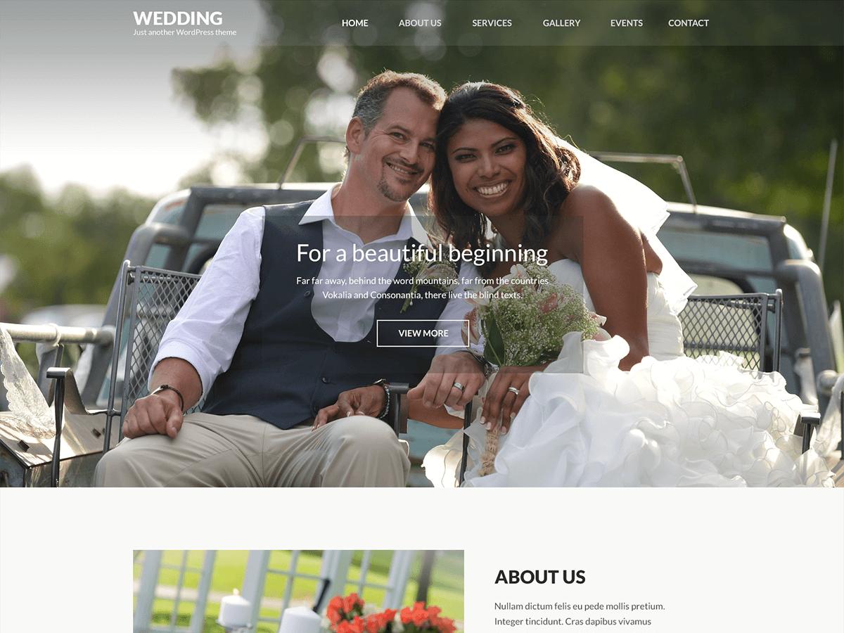Wedding Band Wordpress
