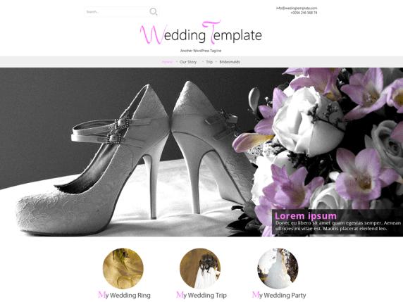 Wedding Style wordpress theme