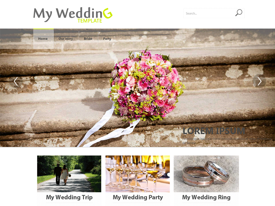 Weddings free wordpress theme