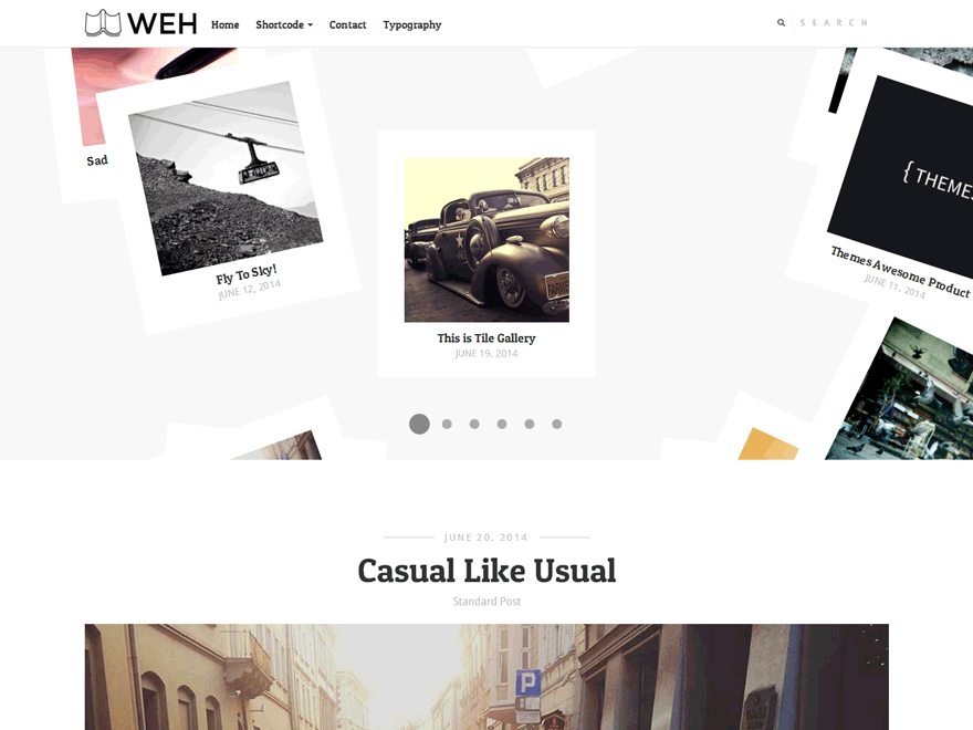 Weh Lite free wordpress theme