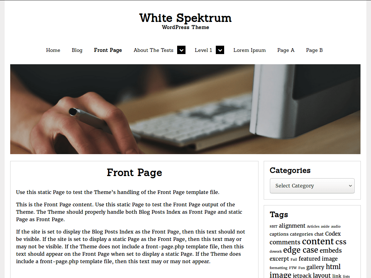White Spektrum