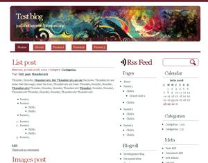 WhitePlus free wordpress theme