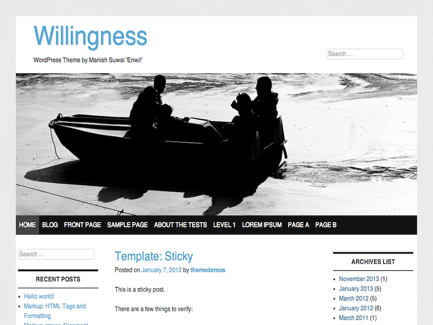 Willingness theme wordpress gratuit