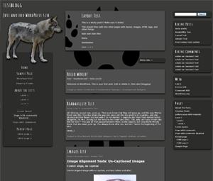 Wolf wordpress theme