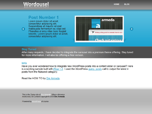 Wordousel Lite free wordpress theme