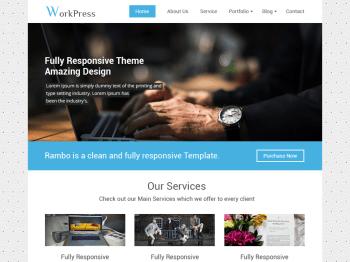 Workpress child theme
