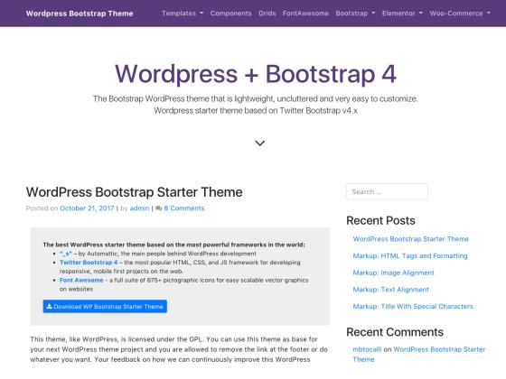 i0 wp com/themes svn wordpress org/wp-bootstrap-st