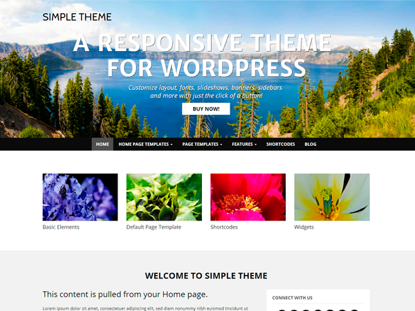WP Simple free wordpress theme
