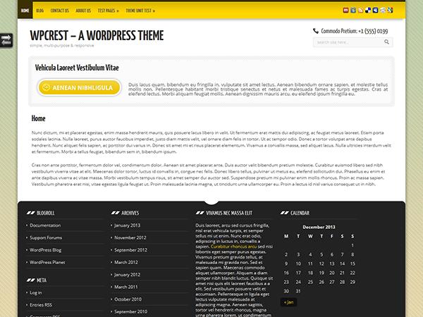 WPCrest free wordpress theme