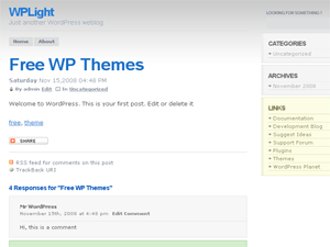 WPLight Theme wordpress theme