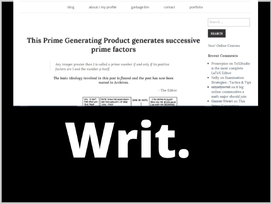 Writ free wordpress theme