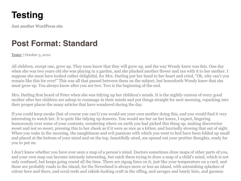 Writer theme wordpress gratuit