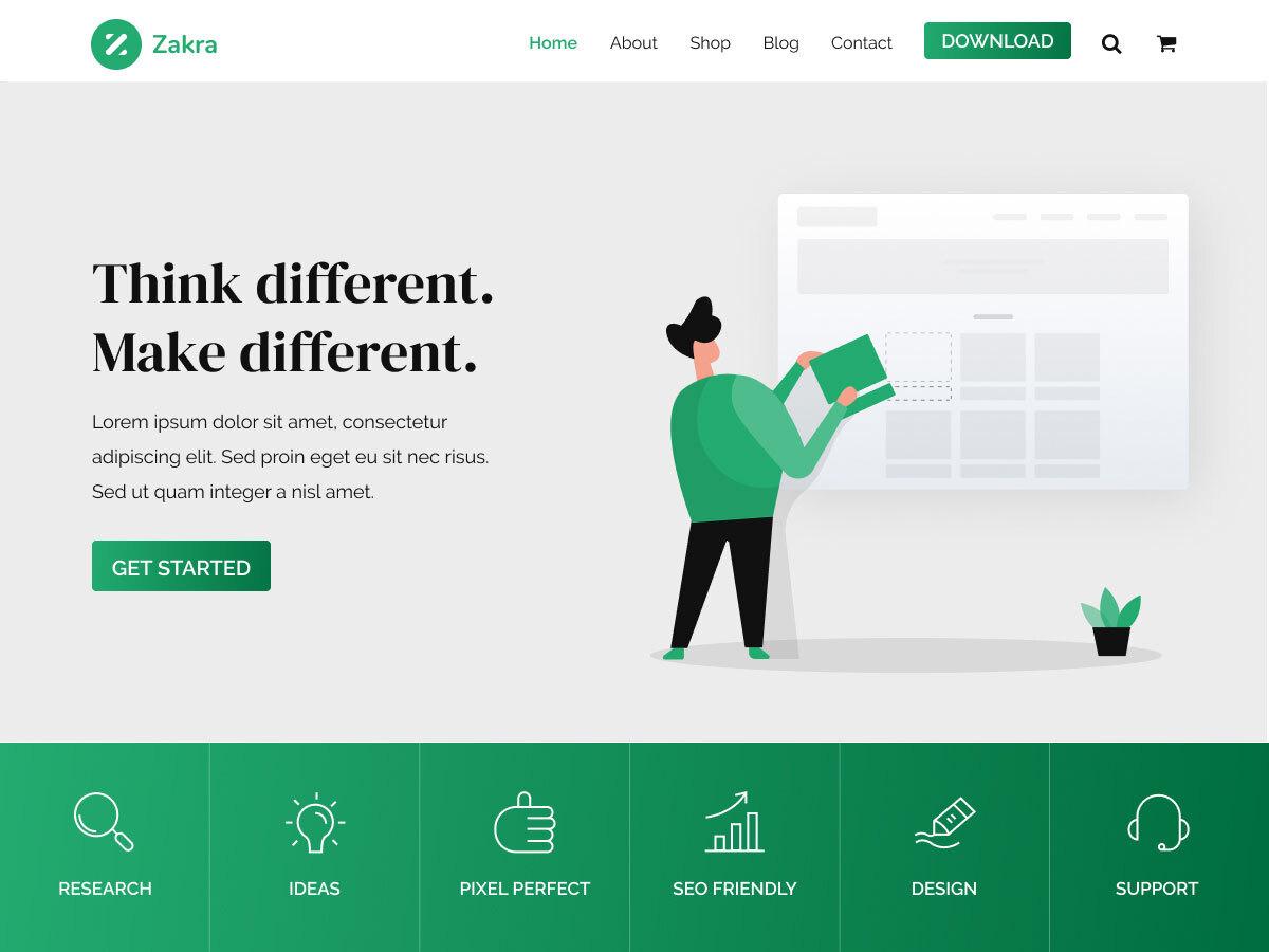 Zakra - WordPress theme | WordPress.org