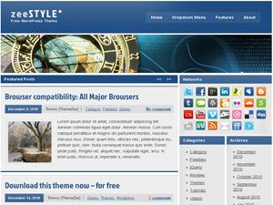 zeeStyle free wordpress theme