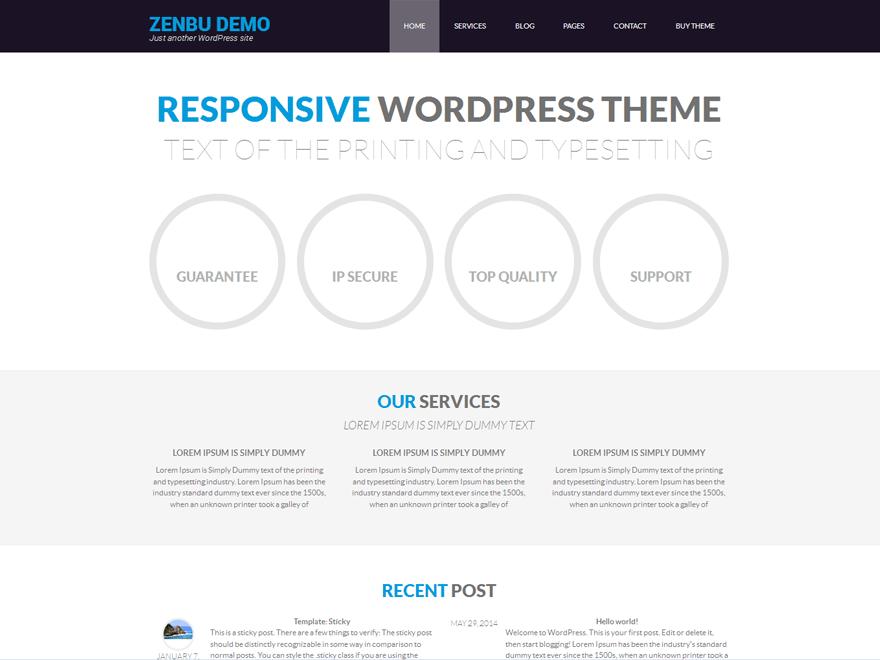 Zenbu theme wordpress gratuit