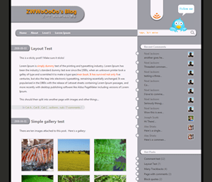 zKRally free wordpress theme