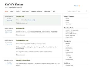 zSofa wordpress theme