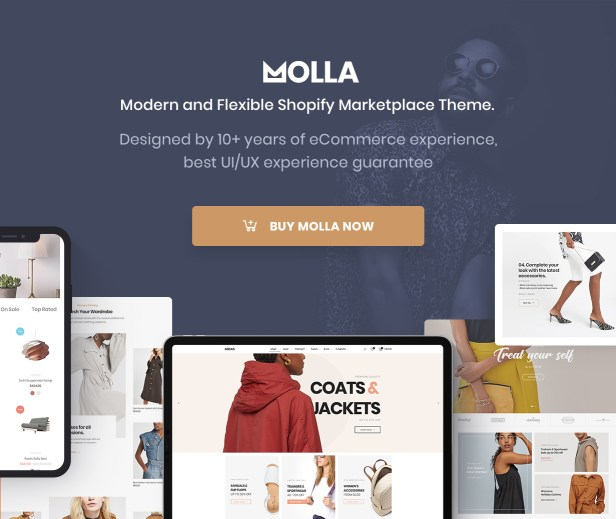 Molla - Multipurpose Responsive Shopify Theme - 5