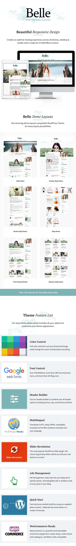 Belle Responsive WordPress Theme