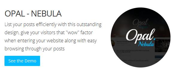 Bluthemes - Opal Nebula