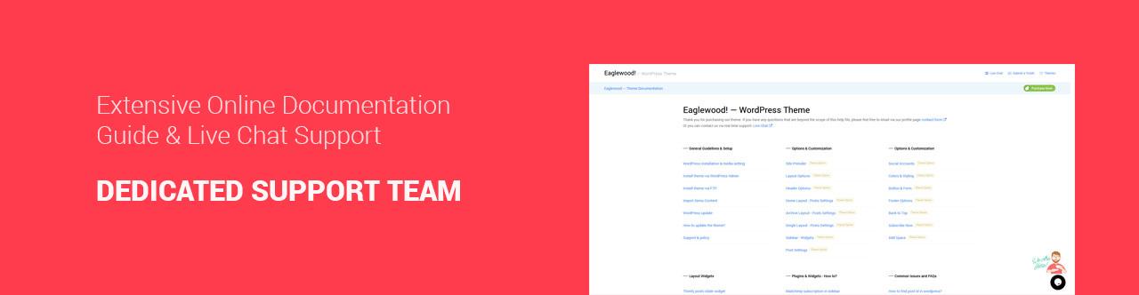 Eaglewood - Modern WordPress Blog Theme - 3