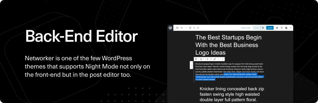 Networker - Tech News WordPress Theme with Dark Mode - 5